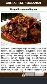 Aneka Resep Makanan apk screenshot