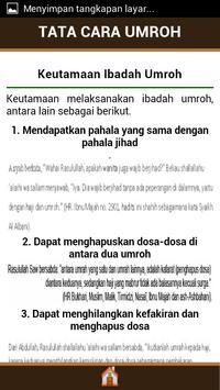 Tata Cara Umroh apk screenshot