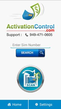 Activation Control poster