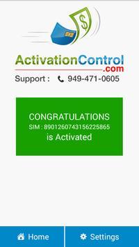 Activation Control apk screenshot