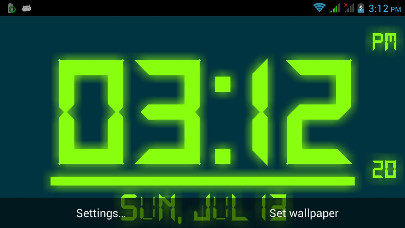 Wall Art Apk Download : Digital clock live wallpaper apk download free