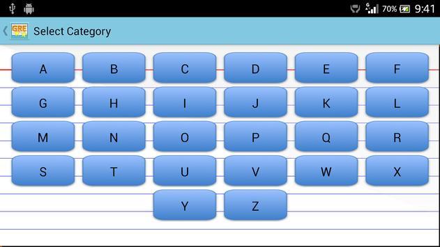 GRE Word Quiz apk screenshot