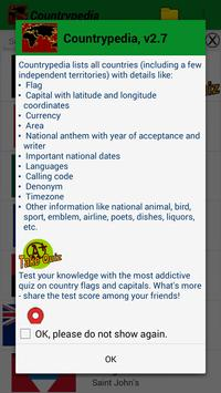 Country encyclopedia & quiz poster