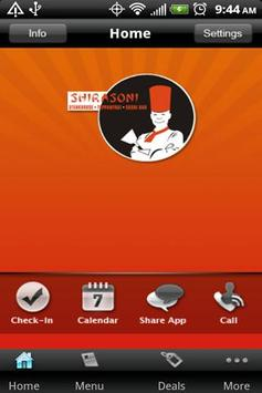 Shirasoni Japanese Restaurant apk screenshot