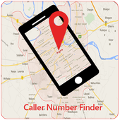 Caller Mobile Number locator icon