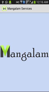 MangalamWebServices apk screenshot