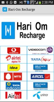 HariOm Recharge poster