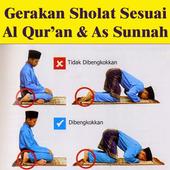 Gerakan Sholat Sesuai Sunnah icon