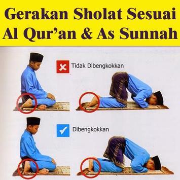 Gerakan Sholat Sesuai Sunnah poster