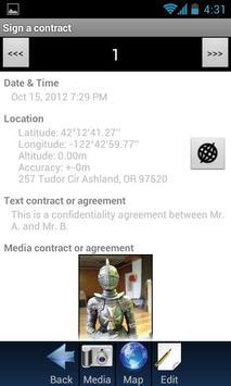 Sign a contract apk screenshot