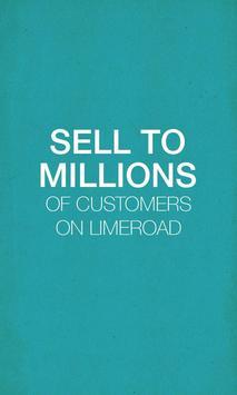 LimeRoad Seller App poster