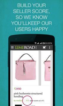 LimeRoad Seller App apk screenshot