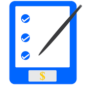 Retail checklist calculator icon
