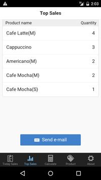 Retail checklist calculator apk screenshot