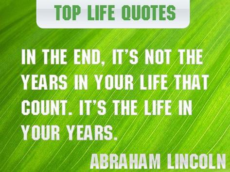Top Quotes About Life apk screenshot