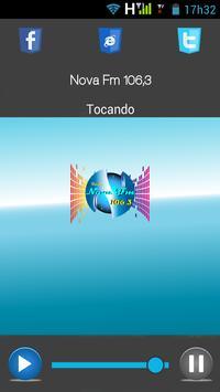 Nova FM 106,3 poster