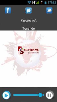 Selvíria MS poster
