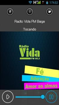 Rádio Vida FM Bagé poster