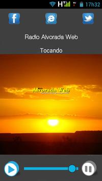 Radio Alvorada Web apk screenshot