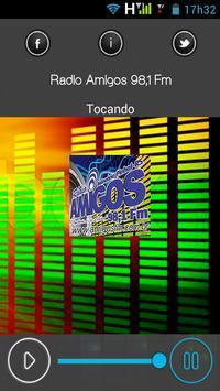 Radio Amigos 98,1 Fm poster