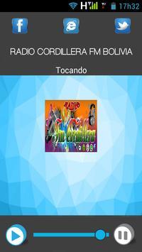 Radio Cordillera Fm Bolivia apk screenshot
