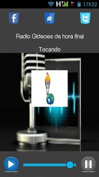 Rádio gideões da Hora Final apk screenshot
