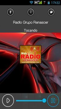 Rádio Grupo Renascer apk screenshot