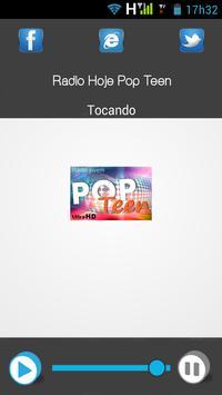 Rádio Hoje Pop Teen apk screenshot