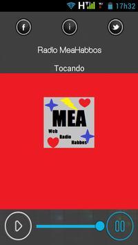 Rádio Mea Habbos poster