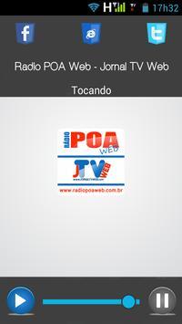 Rádio POA Web - Jornal TV Web apk screenshot