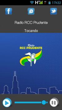 Radio RCC Prudente poster