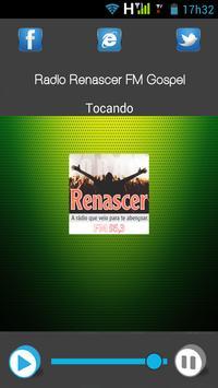 Rádio Renascer FM Gospel apk screenshot