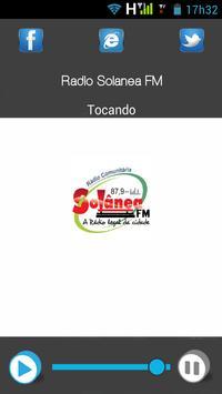 Rádio Solânea FM poster