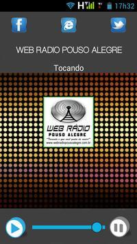 Web Rádio Pouso Alegre apk screenshot