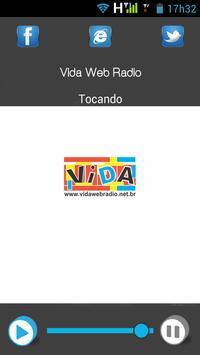 Vida Web Rádio apk screenshot