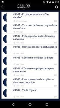 Carlos Marquez apk screenshot