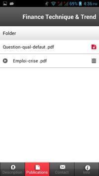 Finance Technique & Trend apk screenshot