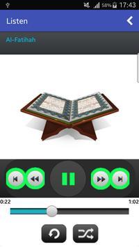 Listen Quran Offline poster