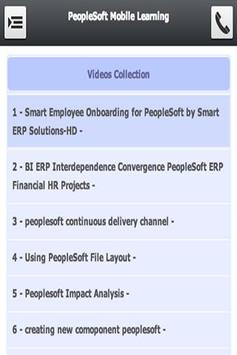 PeopleSoft Mobile Learning apk screenshot
