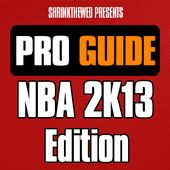 Pro Guide - NBA 2K13 Edition icon