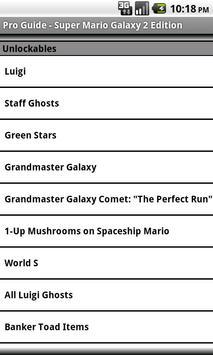 Pro Guide - Mario Galaxy 2 Edn apk screenshot