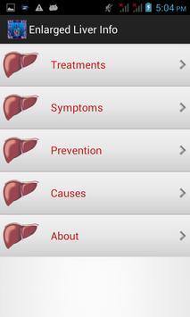 Enlarged Liver Info apk screenshot