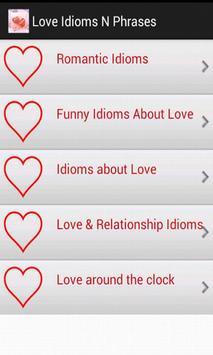Love Idioms & Phrases apk screenshot