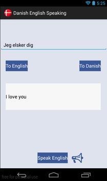 English Danish (Audio) poster