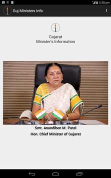 Gujarat Ministers Information apk screenshot