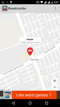 Free Car Locator apk screenshot