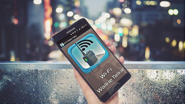 Wi-Fi Walkie Talkie poster