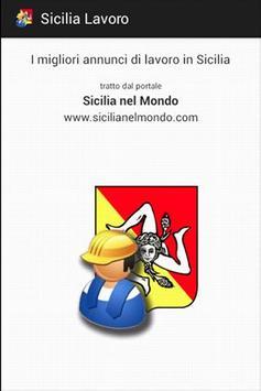Sicilia Lavoro FREE poster