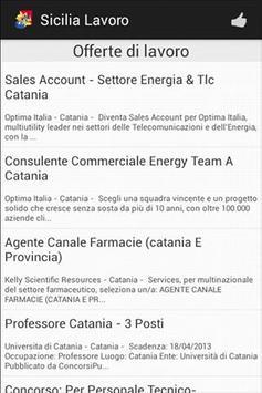 Sicilia Lavoro FREE apk screenshot