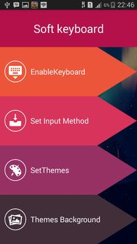 Keyboard theme BBM poster